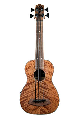 Used, Kala U-Bass Exotic Mahogany - Fretless for sale  Delivered anywhere in USA