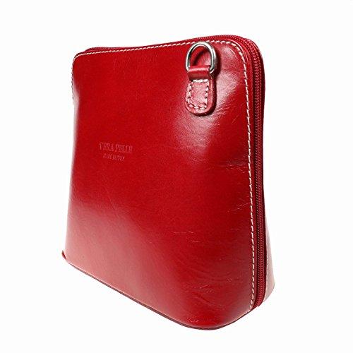 Bolso Red Para Mujer De Saile's Piel Cruzados Fw7RRf