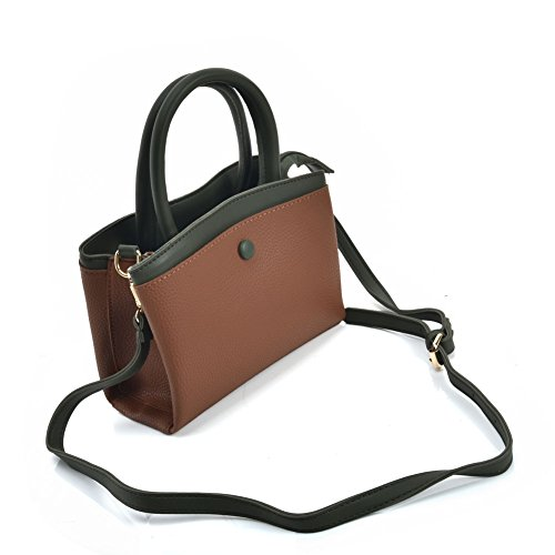 Bag Women's Bag Leather Shoulder Brown Tote Messenger Bag Fashion Tote YOUNG SALLY PU zqPaaE