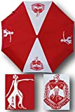 Delta Sigma Theta Auto Open Folding Umbrella