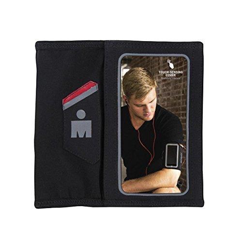 Yurbuds (CE Ergosport Armsleeve for iPhone 5, Black/Red
