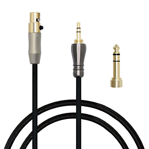 MiCity 2 Replacement Upgrade Cable Audio Extension Cord Wire For AKG Q701 K702 K271S K271 K141 K171 K181 MKII K240S K240 MK2 Pioneer HDJ-2000 Headphones (2m)