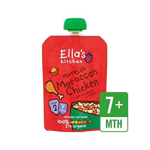 Ella's Kitchen Moroccan Chicken Tagine 130g - Pack of 2 Ella' s