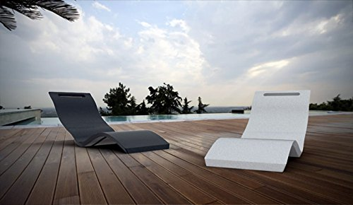 Sedia a sdraio SERENDIPITY CHAISE per piscina e SPA modello da terra