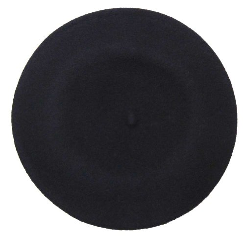 Vieux Carre Traditional French Wool Beret, Navy