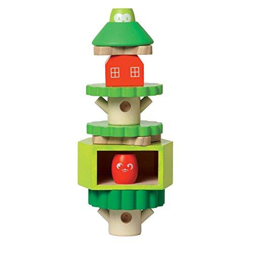 Manhattan Toy Treehouse Wooden Stacker & Block - Tree Toys House