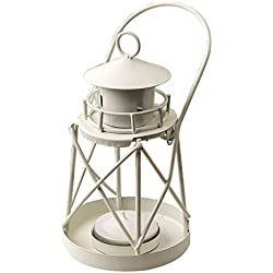 FC White Mini Lanterns Decorative for Wedding Party Tealight Lighthouse Luminous décor 9 Pack