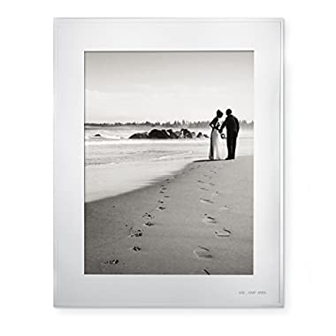 Kate Spade  Darling Point  Silverplate 8  x 10  Photo Frame