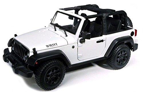 2014 Jeep Wrangler Willys White 1//18 by Maisto 31610 SG/_B01AX09MMI/_US
