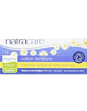 NATRACARE Organic Regular Tampons with Applicator,16 Count (Pack of 3)
