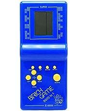 لعبة ريترو كلاسيك ال سي دي المحمولة - ازرق