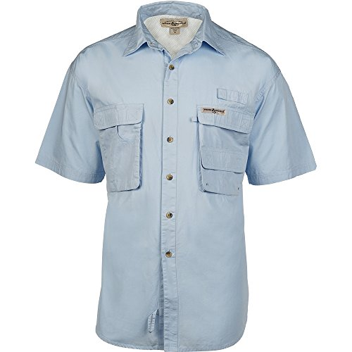 Hook & Tackle Gulfstream Short Sleeve XLarge Ice Blue