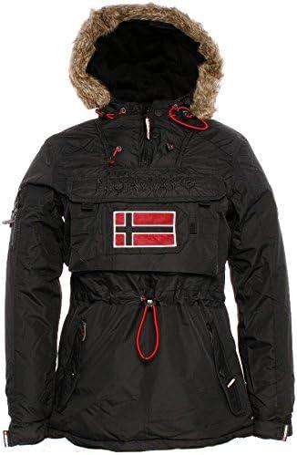 Geographical Norway Giubbotto Bronson Lady Nero Black