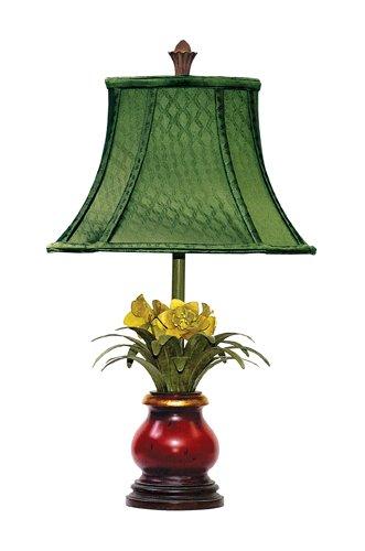 Sterling 91-083 Flowers in Ruby Vase Table (Sterling Vase)