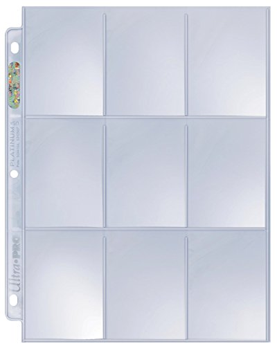 Ultra Pro Platinum Series Hologram 9-Pocket Pages (50)