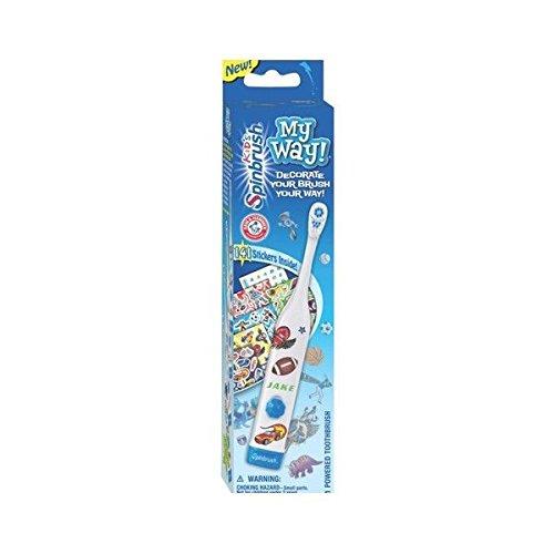 Spinbrush My Way! Kid's Powered Toothbrush 766878200262
