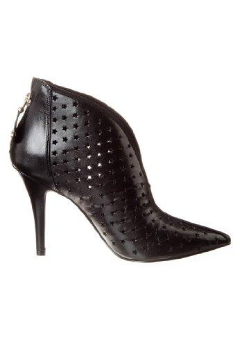 Guess-Chaussure-Modèle bûche Cod. ELSTER FL1ESRLEA09-Couleur : Noir