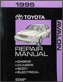 1995 Toyota Avalon Repair Shop Manual Original Toyota Amazon Com Books