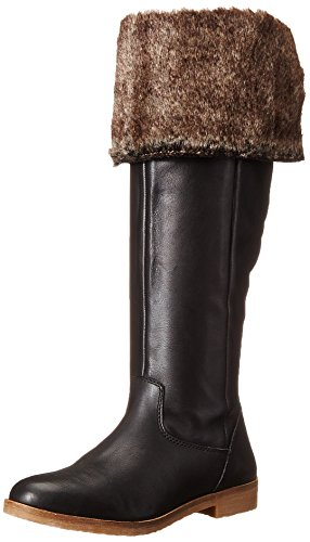 Lucky Women's Generall Riding Boot, Black, 6.5 M US by Lucky Brand