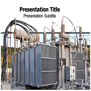 Amazon com: Power Plant Transformer Powerpoint Templates