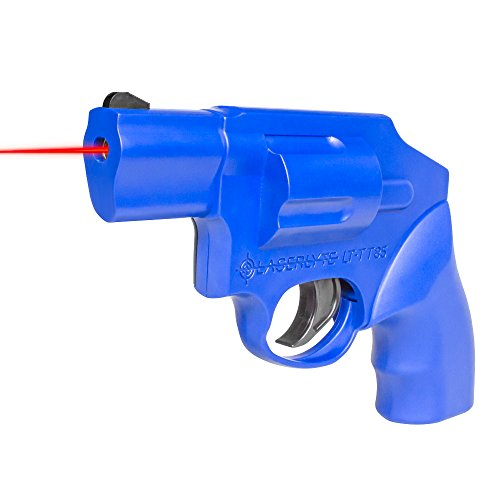 LaserLyte Laser Trainer Revolver S&W J Frame Familiar size weight and feel RESETTING TRIGGER at 5.5 lb is ready to shoot after every pull FIRES a laser dot when REAL GUN SIGHTS for training