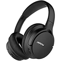 Mpow [Upgraded] H4 Bluetooth Headphones Over Ear, with Equilizer APP, Hi-Fi Stereo Headset, Low Latency Wireless Headphones w/mic, Real Protein Earpads Headset for Cell Phone/TV/PC (30 hrs Play)