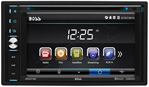 Boss Audio Systems Boss Audio BV9371BD Bluetooth, Double Din 6.2 Inch Detachable touch Screen, DVD/CD/USB/SD/MP3 Am/FM Receiver, Wireless Remote