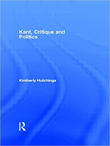 Book Kant, Critique and Politics