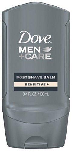 Shaving Care (Dove Men + Care Post Shave Balm, Sensitive 3.4 oz (Pack of 2))