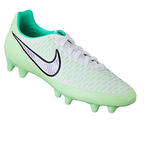 Nike Womens Magista Onda FG Size 9.5 (White/Chrome/Green)