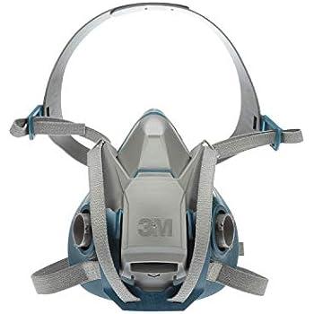 3M Rugged Comfort Quick Latch Half Facepiece Reusable Respirator  6503QL 49492, Large, Gray Teal f361874d05