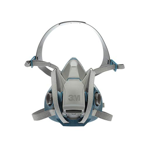 3M Rugged Comfort Quick Latch Half Facepiece Reusable Respirator 6503QL, Gases, Vapors, Dust, Large