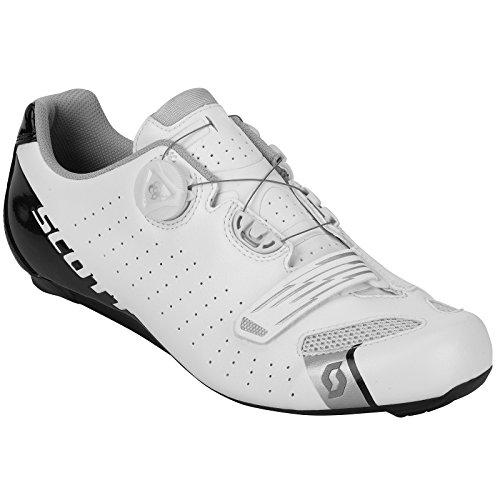 Scott Road Comp Boa - Scarpe da ciclismo, modello 2018, bianco/nero