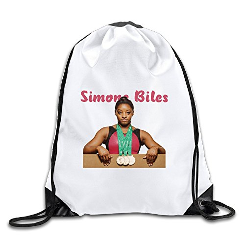 Hunson - Funny Simone Biles Training Gymsack Gym Bag For Men & (Stanton Laptop Bag)