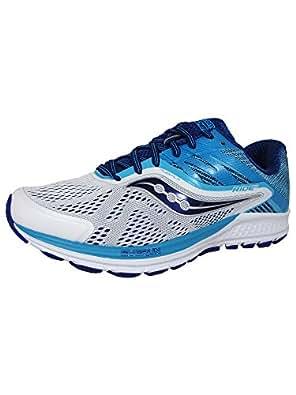 Zapato deportivo blanco / azul Ride 10 para mujer