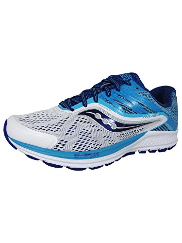 Ride de Femme Saucony Blue Chaussures White 10 Running dOw4tn