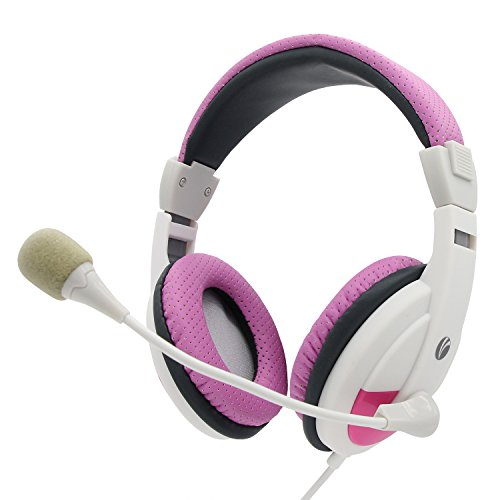 VCOM ATTACKER Computer Headphones with Microphone for PC ...