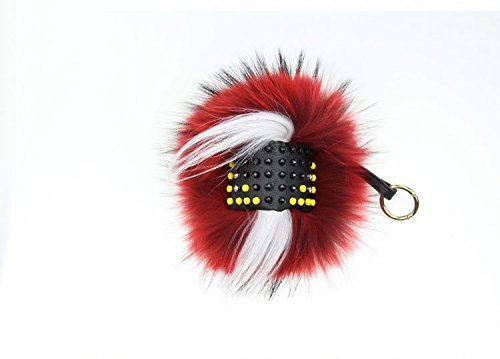 Sunshine monster Raccoon fur Keyring Accessories for Womens Bag /Car Pendant by Sunshine (Image #1)
