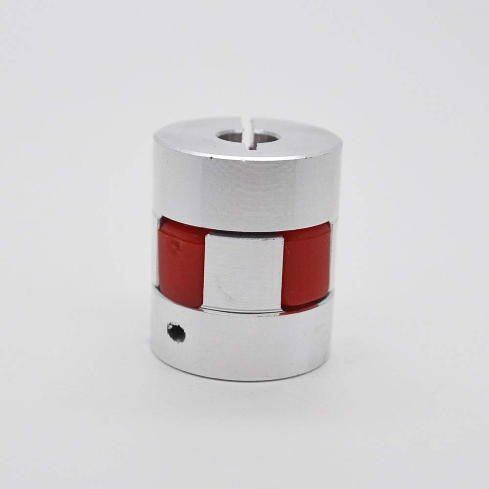 Fevas 4pcs 10x16mm D30 L40 Shaft Coupling Aluminium Plum Flexible Motor Conector Flexible Couple 10mm to 16mm