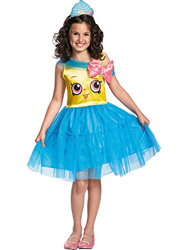 (Shopkins Queen Cupcake Classic Costume, One Color,)