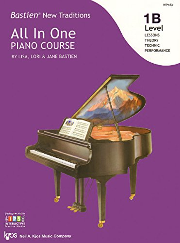 WP453 - Bastien New Traditions - All In One Piano Course - Level ()