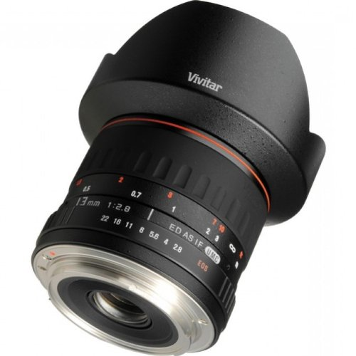 Lente Vivitar VIV-13MM-P 13mm F2.8 para Pentax