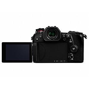 PANASONIC LUMIX G9 4K Digital Camera, 20.3 Megapixel Mirrorless Camera plus 80 Megapixel High-Resolution Mode, 5-Axis Dual I.S. 2.0, 3-Inch LCD, DC-G9 (Black)