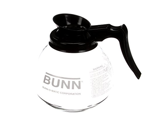 Bunn Glass Decanter - Bunn 42400.0101 Commercial Glass Decanter, 12 Cup
