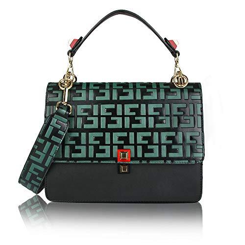 Olyphy Vintage Women Designer Handbag Fashion Shoulder Bag Top Handle - Designers Handbags Fashion Handbags