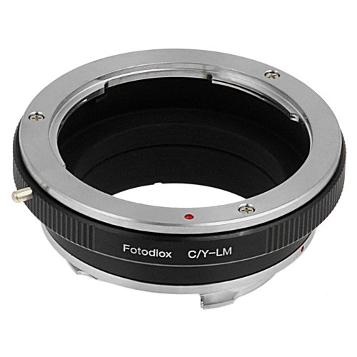 Fotodiox Lens Mount Adapter, Contax/Yashica Lens to Leica M Adapter Fits Leica M-Monochrome, M8.2, M9 and M9