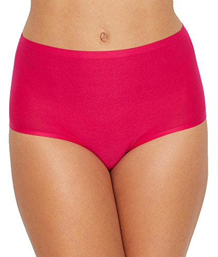 Comfort Luxe Brief (Chantelle Soft Stretch Full Brief, One Size, Raspberry)