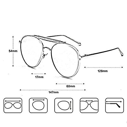 de alta sol 01 protección moda polarizadas sol de 01 Gafas ZHIRONG aire de al de viaje solar de definición de Gafas gafas gafas la Color libre SqU7fxwX