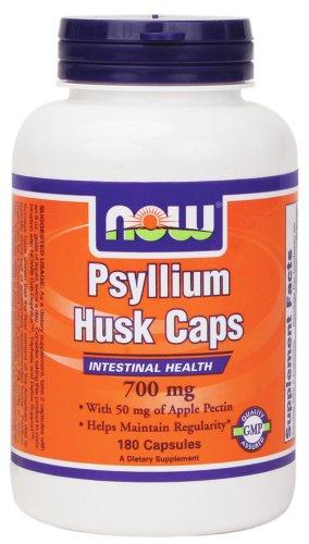 700 Mg 180 Capsules (NOW Foods - Psyllium Husk Caps 700 mg. - 180)