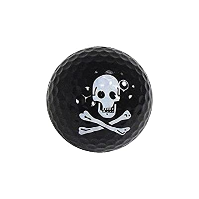 Golf Balls, Nitro Novelty Pirate, 3 Pack